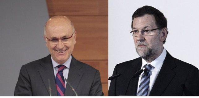 Josep Antoni Duran i Lleida y Mariano Rajoy