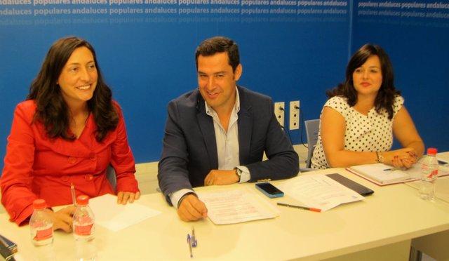Juanma Moreno preside el Comité de Dirección del PP-A