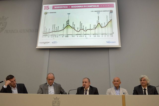 Presentación de la etapa 15 del Giro de Italia 2015