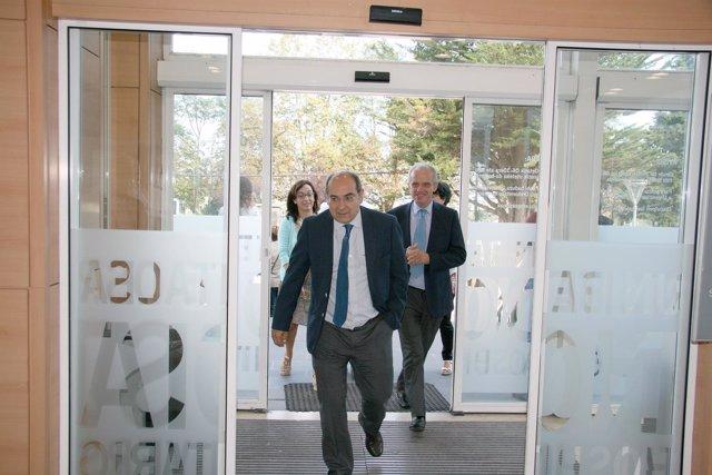 Darpón visita el Hospital Donostia