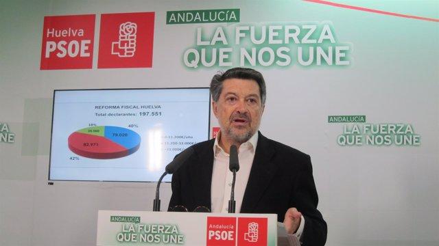 El vicepresidente del Congreso de los Diputados, Javier Barrero.
