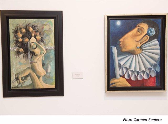 Exposición de Andrés Mérida