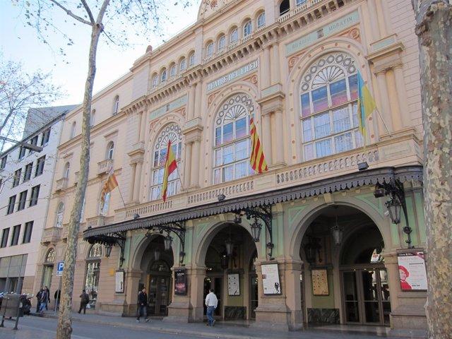El Gran Teatre Del Liceu De Barcelona