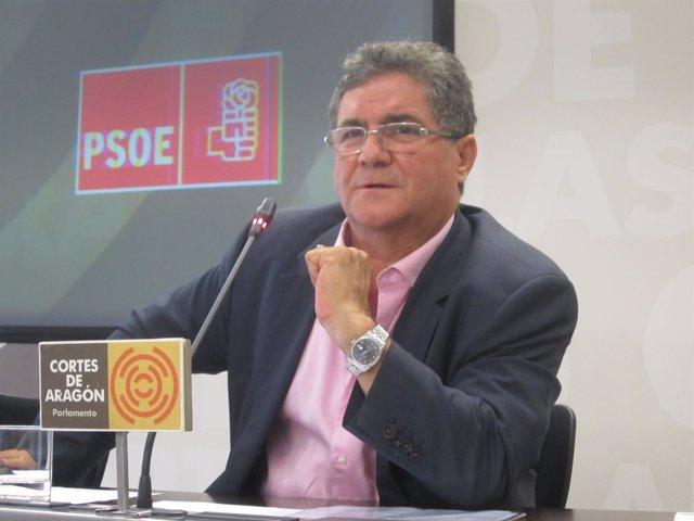 El diputado del PSOE en las Cortes de Aragón, Ramón Laplana