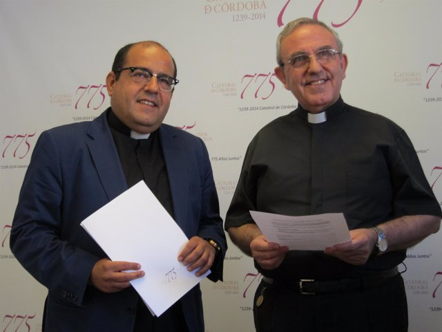 Jiménez Güeto y Pérez Moya en la rueda de prensa