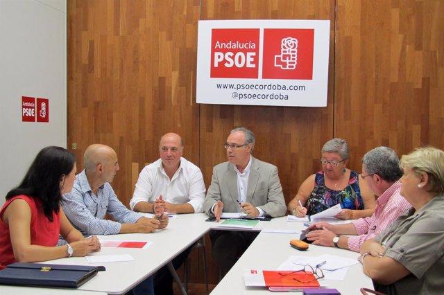 Reunión del Grupo Parlamentario Socialista de Córdoba