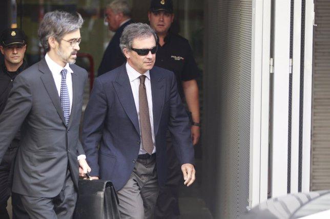Jordi Pujol Ferrusola Sale De Declarar En La Audiencia Nacional