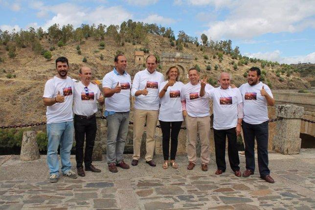 Apoyo Carrón Puente de Alcántara