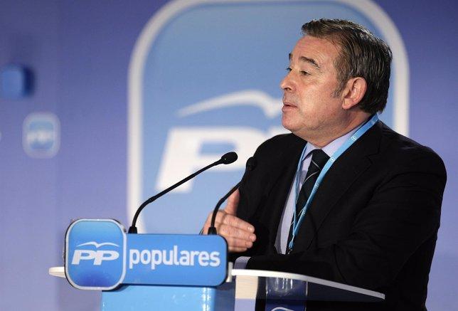 José Manuel Barreiro, en un acto del PP