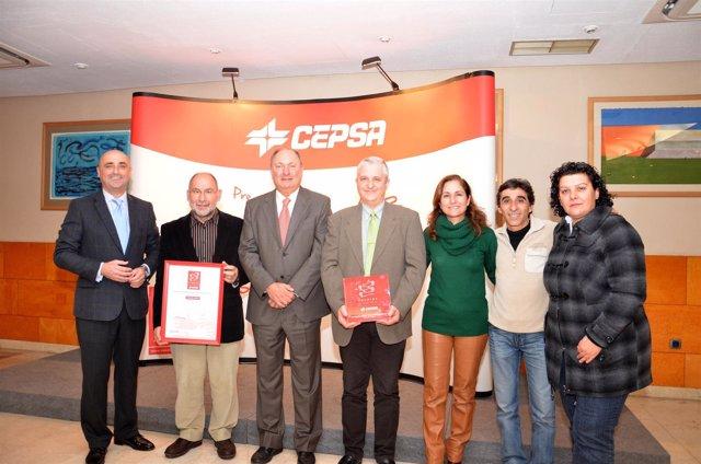 Cepsa entrega los premios Al Valor Social.