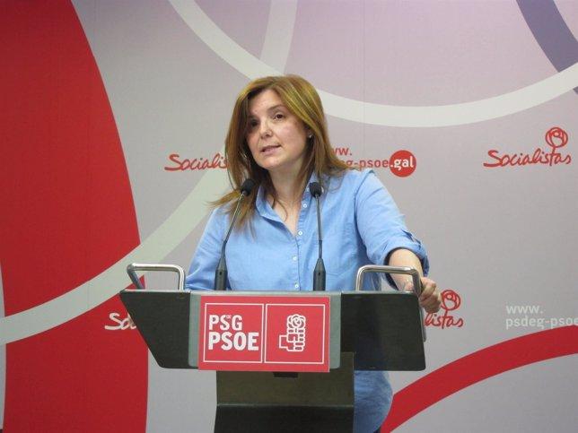 La secretaria de Organización del PSdeG, Pilar Cancela