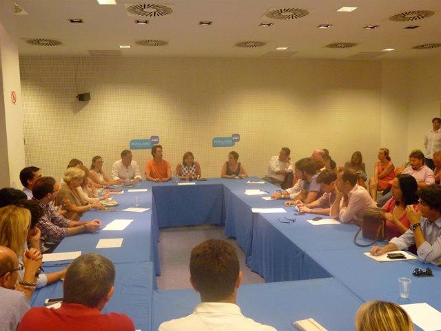 Reunión de la Tribuna para la Regeneración del PP de Valencia