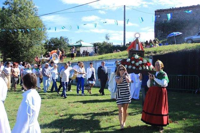 Festividad de la Bien Aparecida en Las Cárcobas de Laredo