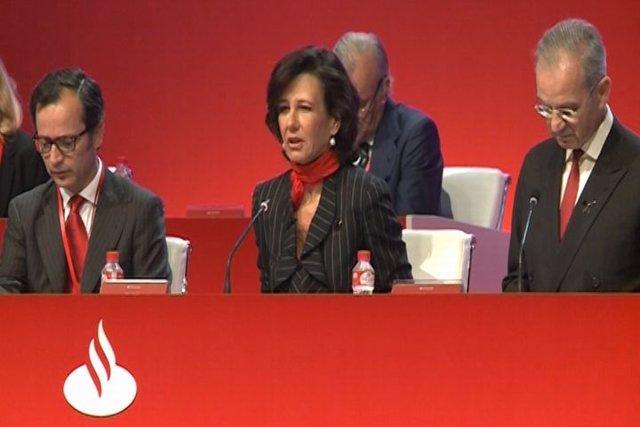 Ana Botín continuará con la estrategia del Santander
