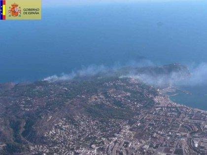 Extinguido el incendio de Montgó (Alicante) tras arder 444 hectáreas