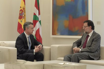 Urkullu y Rajoy se reunieron el lunes en la Moncloa