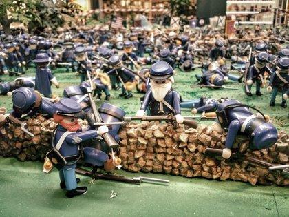 Más de 10.000 piezas de Playmobil recrean la Batalla de Gettysburg