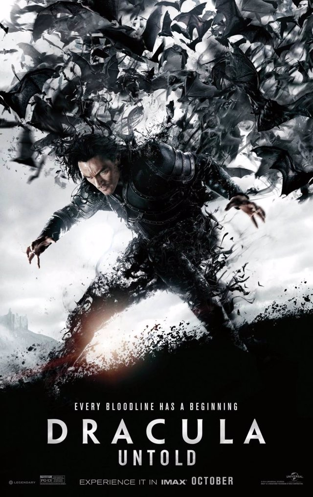 Luke Evans en Drácula Untold
