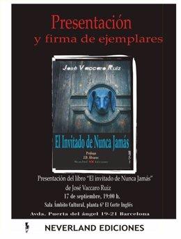 El invitado de Nunca Jamás, de José Vaccaro