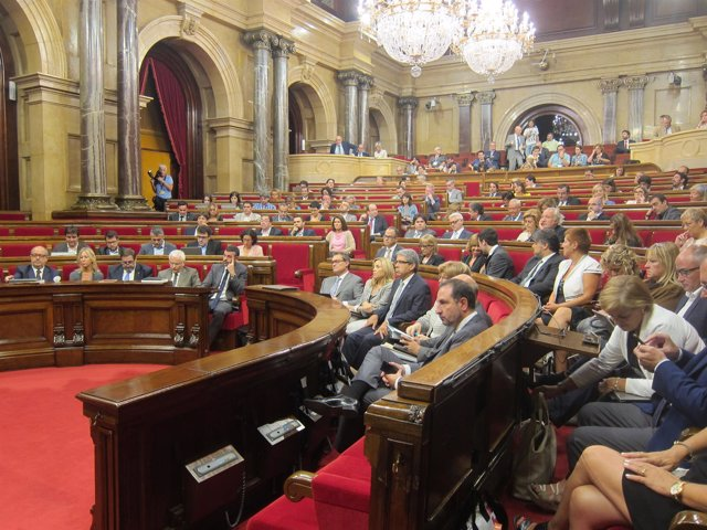 Debate de Política General en el Parlament.