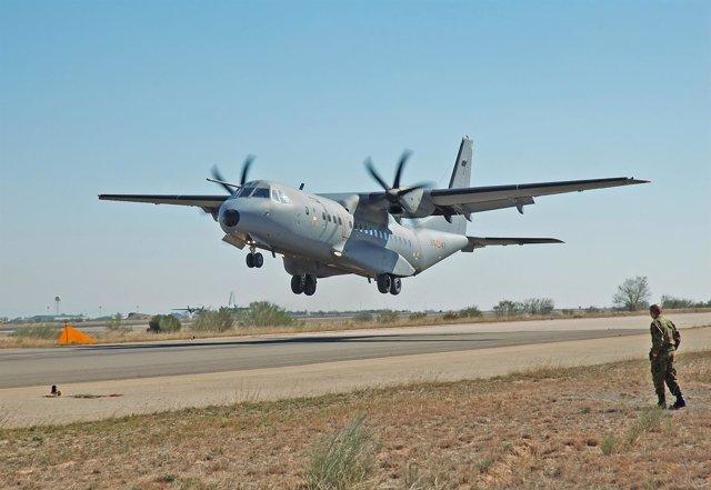Avión de transporte C295 del Ejército del Aire