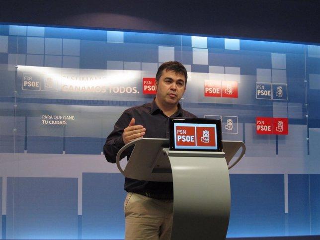 El Secretario Adjunto De Organización Del PSN, Santos Cerdán.