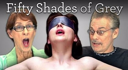 Así reaccionan los ancianos ante el tráiler de 50 sombras de Grey
