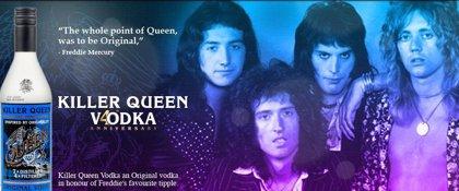 Queen presentan su propio vodka en honor de Freddie Mercury