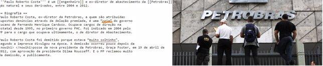 Impiden acceso a Wikipedia a trabajadores de Petrobras