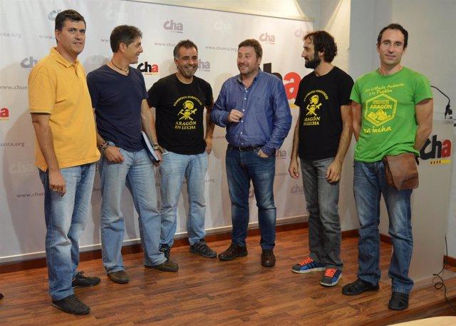CHA recoge las reivindicaciones de los trabajadores de SARGA