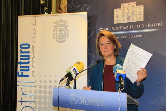 Alcaldesa de Motril, Luisa García Chamorro