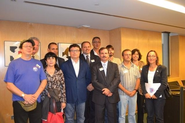 Diputados de Izquierda Plural, BNG, Amaiur y Nueva Canarias
