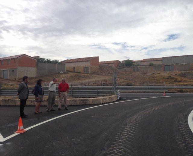 Obras de acondicionamiento de la Travesía de Cella (Teruel)