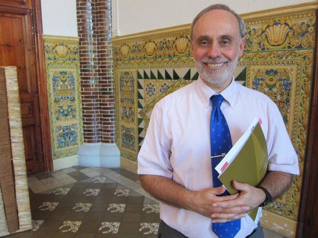 El rector de la UAB, Ferran Sancho (ARCHIVO)