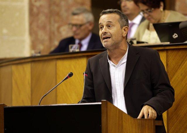 José Antonio Castro, hoy en el Parlamento