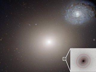 Galaxia más pequeña con agujero negro supermasivo