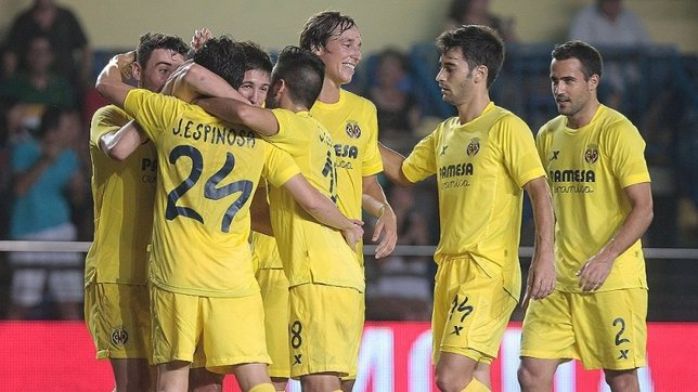 El Villarreal llega a Europa lanzado