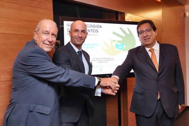 Presentación de la Gran Recogida de Alimentos por toda Andalucía