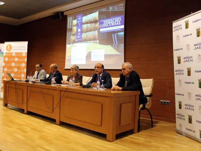 Inauguración del III Curso de Derecho Concursal en Jaén