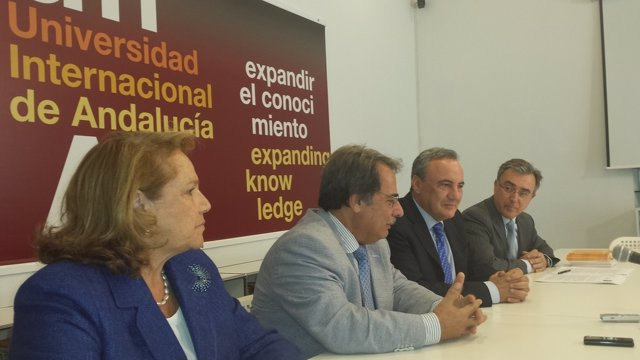 Concha Yoldi, Eugenio Domínguez, Francisco Martínez Cosentino e Ignacio Martínez
