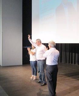 Villarrubia durante el acto celebrado en Valladolid
