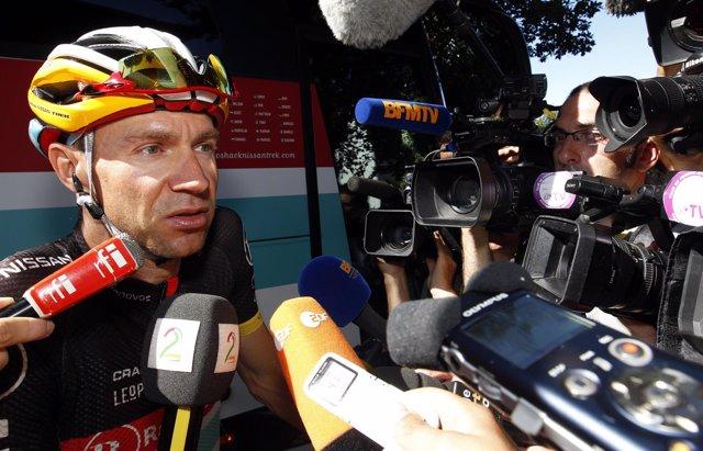 El ciclista alemán Jens Voigt