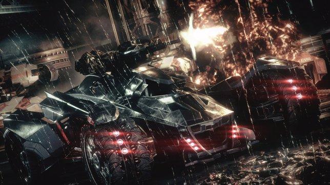 Batmóvil de Arkham Knight