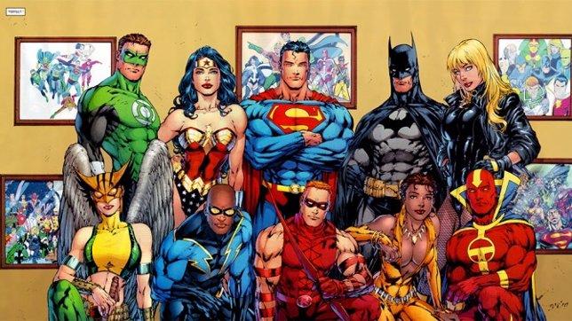 La nueva serie de animación de Liga de la Justicia