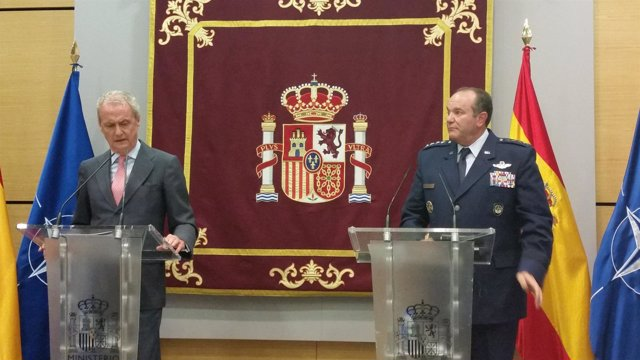 Pedro Morenés y el general Philip Breedlove