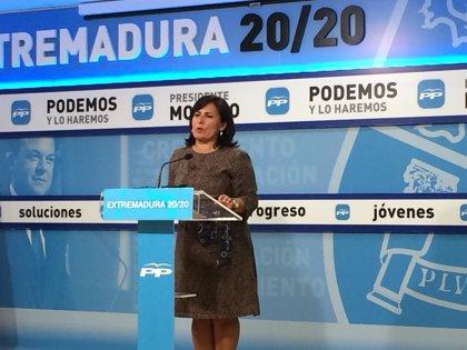 """El PP asegura que las cuentas de la sanidad extremeña """"están saneadas"""" y que """"goza de buena salud"""""""