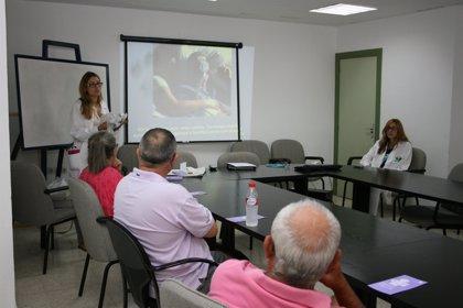 El Peset organiza un taller para que sus pacientes con apnea cumplan el tratamiento