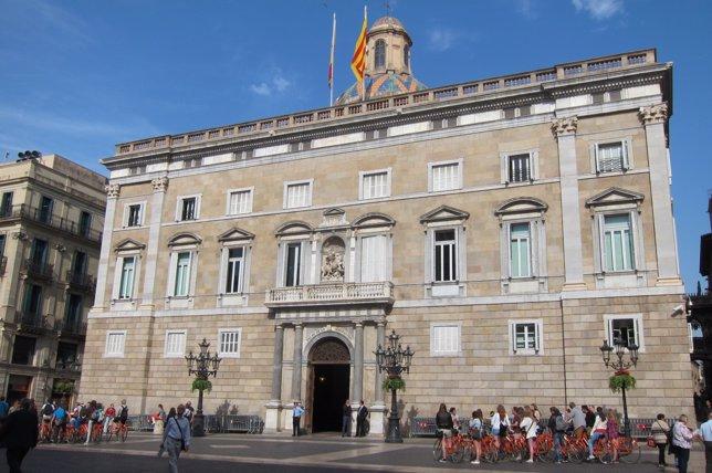 Palau de la Generalitat, plaza de Sant Jaume (Archivo)
