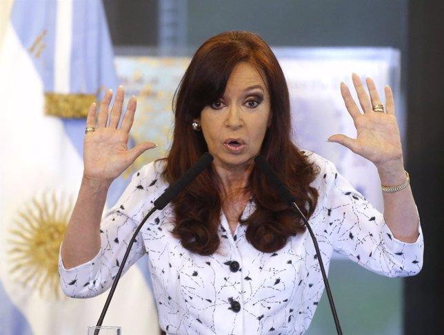 Presidenta de Argentina, Cristina Fernández de Kirchner