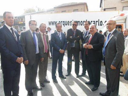 José Bono y Vicente Tirado asisten a la misa mayor de Bargas